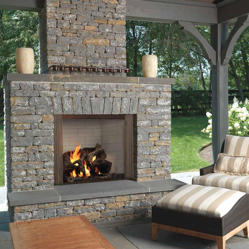 Outdoor Lifestyles Castlewood Wood Fireplace Fireplaces Pinterest Wood Fireplace Woods