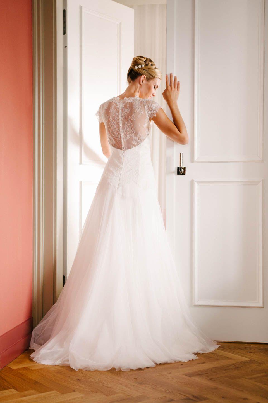 Brautkleid Rücken Spitze – mit Peppinas tiefem transparentem Rücken ...