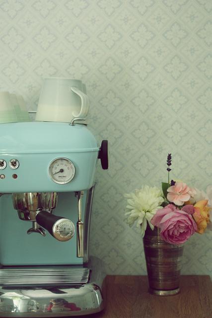 Light Blue Kitchen Aid Coffee Pot