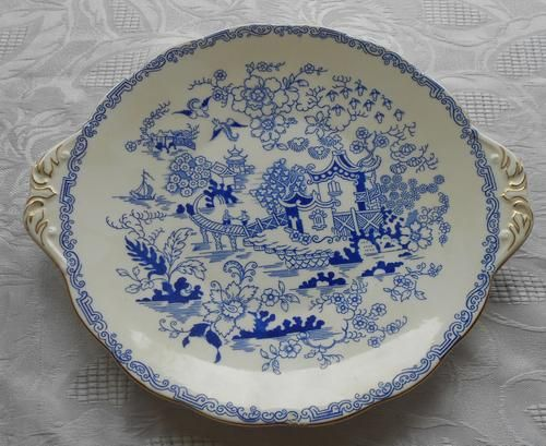 English - Royal Albert Mikado Cake Plate for sale in Brits (ID:136460884)