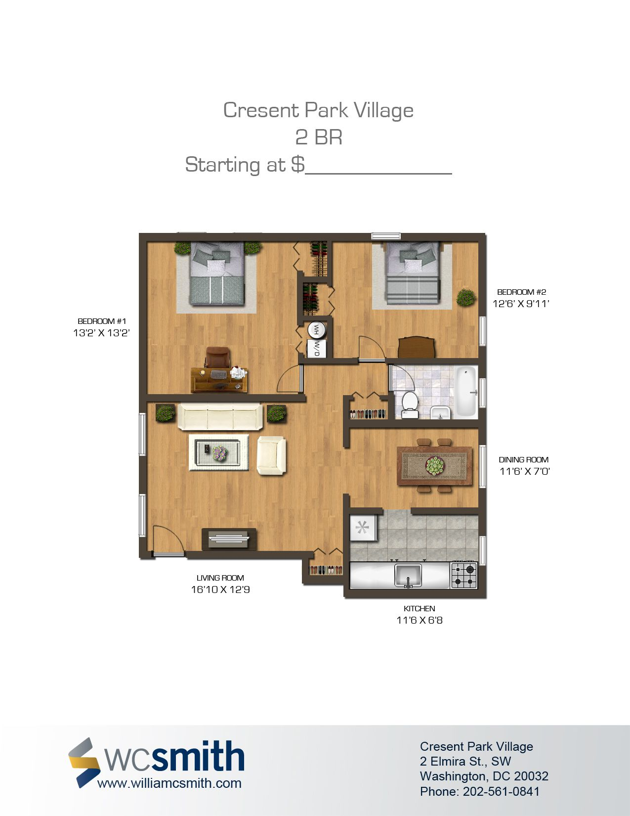 2 Bedroom Apartments For Rent In Dc Simple Crescent Park Village  Crescents Apartments And Bedrooms Review