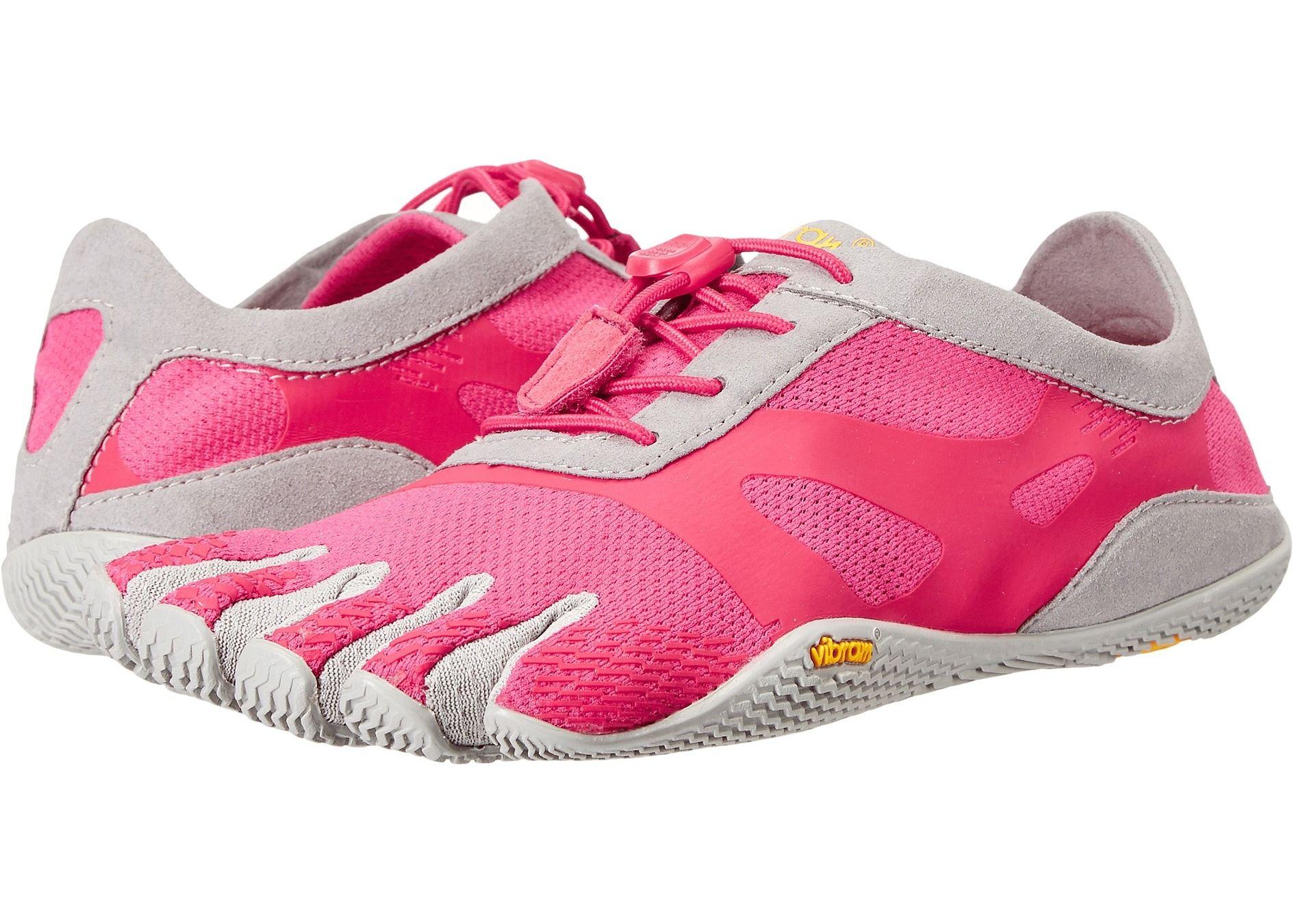 cel mai iubit selecție uimitoare informatii pentru Tenisi & Adidasi Dama Vibram FiveFingers KSO EVO Pink/Grey in ...