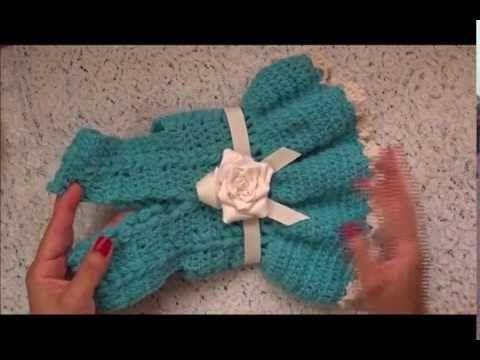 Como hacer un sueter para perro tejido a crochet - YouTube Más ...