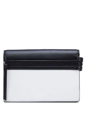CHARLES & KEITH White Fashion Trendy Clutch 時尚手拿袋