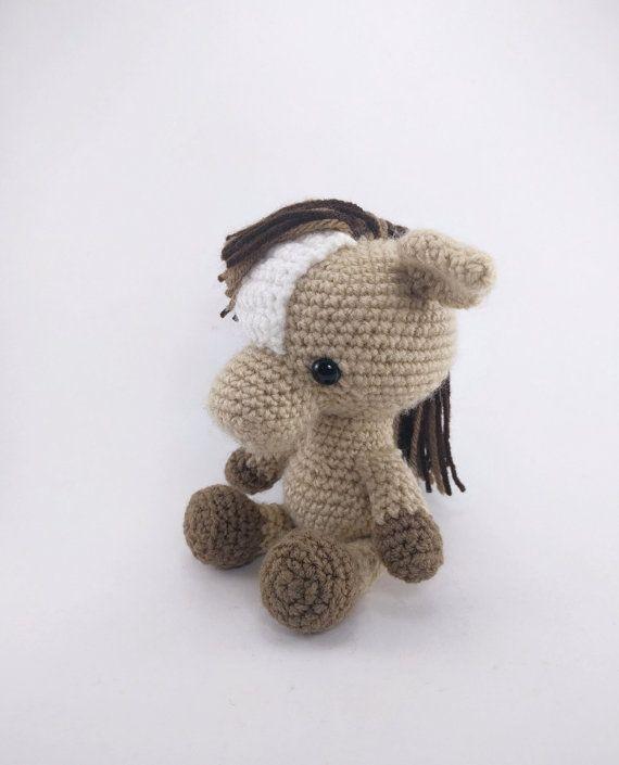 PATTERN: Henry the Horse - Crochet horse pattern - amigurumi horse pattern - farm animal - crochet pony pattern - PDF crochet pattern #horsepattern PATTERN: Crochet horse pattern amigurumi horse pattern #horsepattern