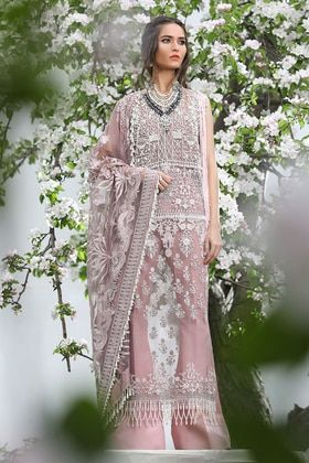 fa41fa1009 Sana Safinaz 3 Piece Luxury 18-01A Custom Stitched Suit - Pink ...