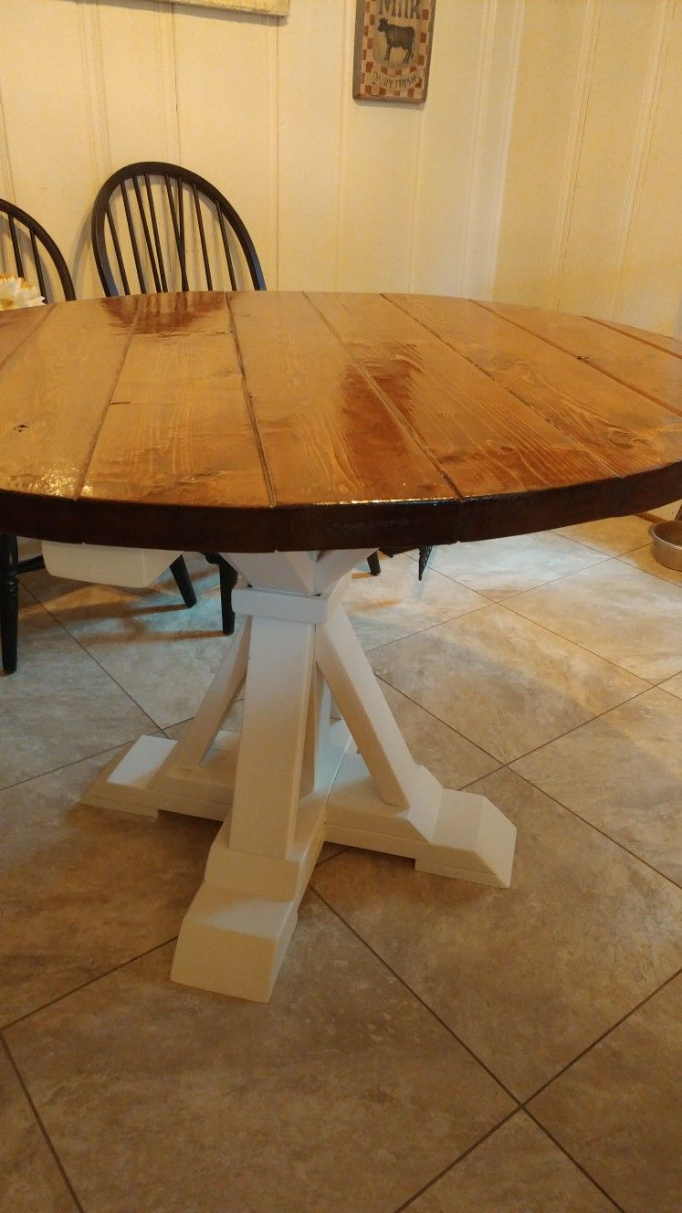 diy round farmhouse table swanky design company round farmhouse table diy farmhouse table on farmhouse kitchen table diy id=47205