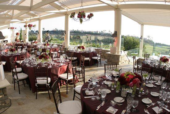 The St Regis Monarch Beach Club 19 Wedding Reception