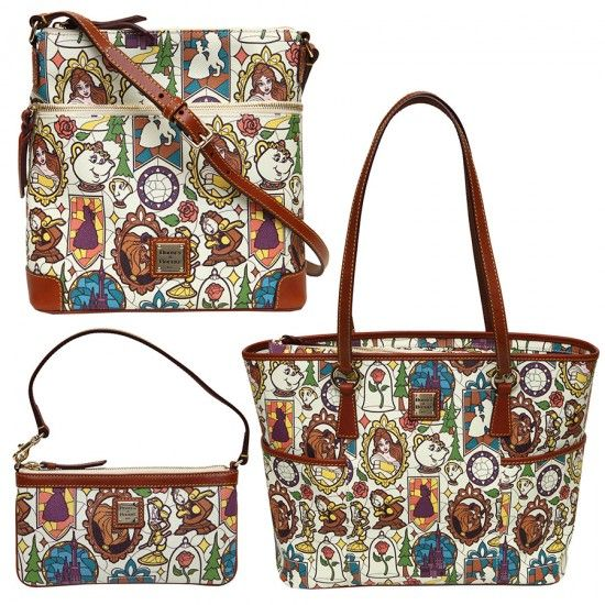 New Dooney And Bourke Collections To Be Released In August Beauty And The Beast Alice In Wonderland Dumbo Inside The Magic Dooney And Bourke Disney Disney Dooney Dooney Bourke