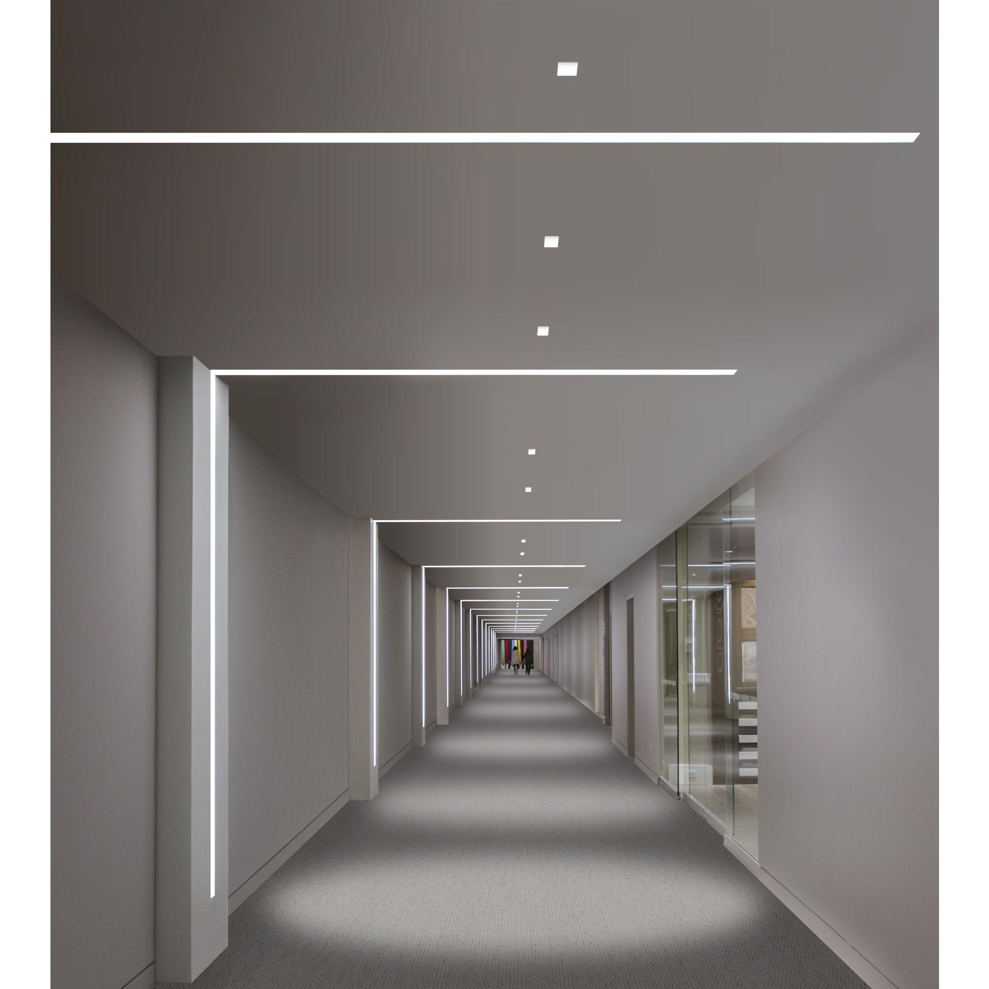 Send Recessed Lighting For Modern Interiors: TruLine 1.6 5W 24VDC Plaster-In LED System