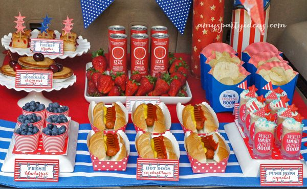 Fun fireworks tailgate perfect way to celebrate your 4th for 4th of july celebration ideas