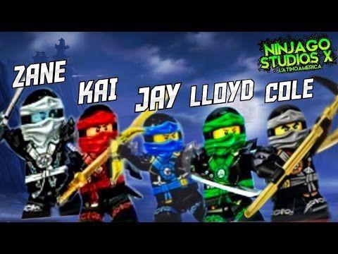 Ninjago meet the ninjas all the ninjas lloyd kai - Ninjago kai jay zane cole lloyd ...