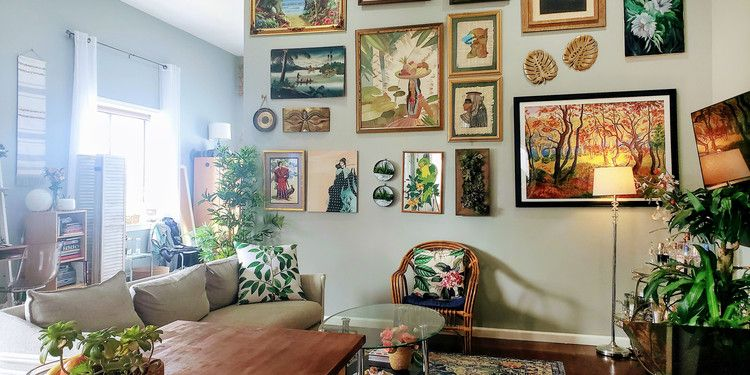 A Nyc Rental Was Furnished On A Budget Thanks To Street Finds And Facebook Marketplace Apartment Therapy Open Living Room Penthouse Apartment Chic Home Decor