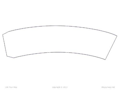 Coffee Sleeve Template | 3D Paper | Pinterest | Coffee sleeve ...