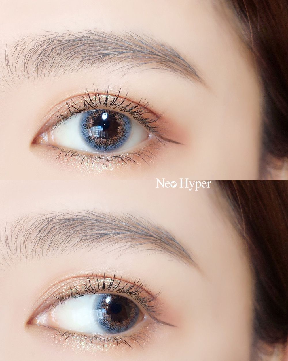 color contacts OKJOO!! Eye makeup, Colored contacts