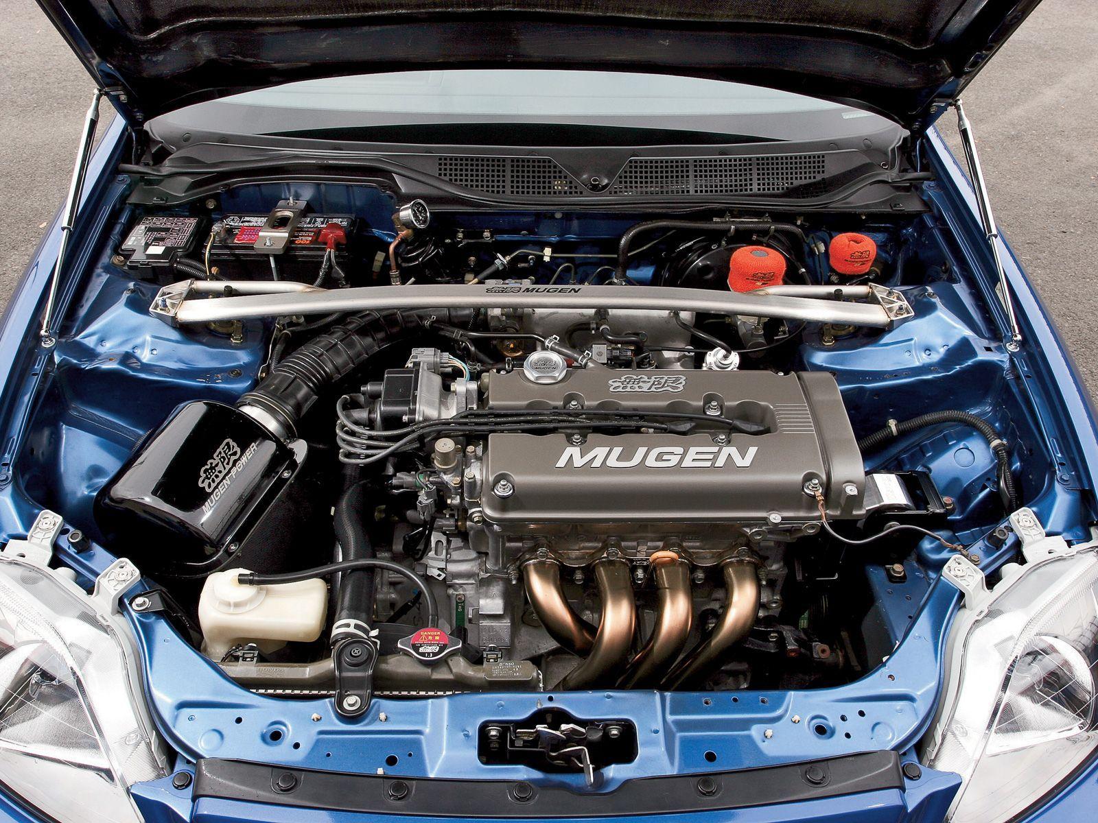Htup 0803 05 o1999 honda civic si coupemotor shot  Cars parts