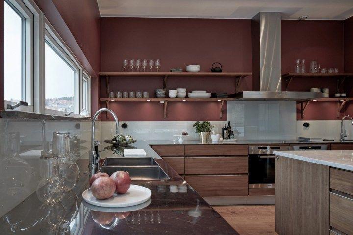 Piso sueco con salón de 74 m² Blog decoracion, Estilo nórdico y - cocinas grandes de lujo
