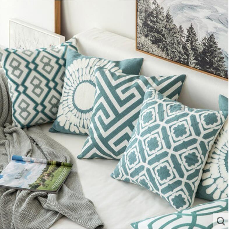 Type Pillow Case 1 Pillow Case Material Cotton Linen Print Type