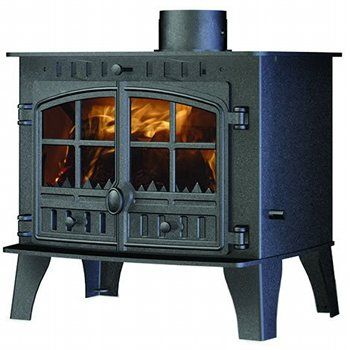 Hunter Herald 14 Multifuel Central Heating Stove 2 Door Wood Fuel Wood Burning Fires Stoves For Sale