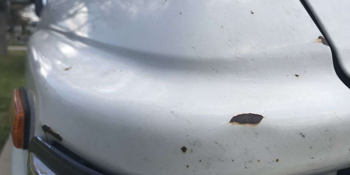 Car Paint Chip Repair >> That Soon To Be Rusted Chip On Your Car Hood Door Or Trunk