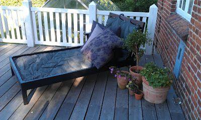 HAVETERAPI: Terrassehygge | Havemøbler | Pinterest | Daybed