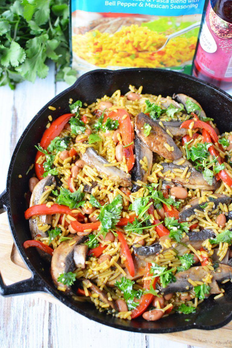 Chimichurri portobello rice recipe recipes rice recipes