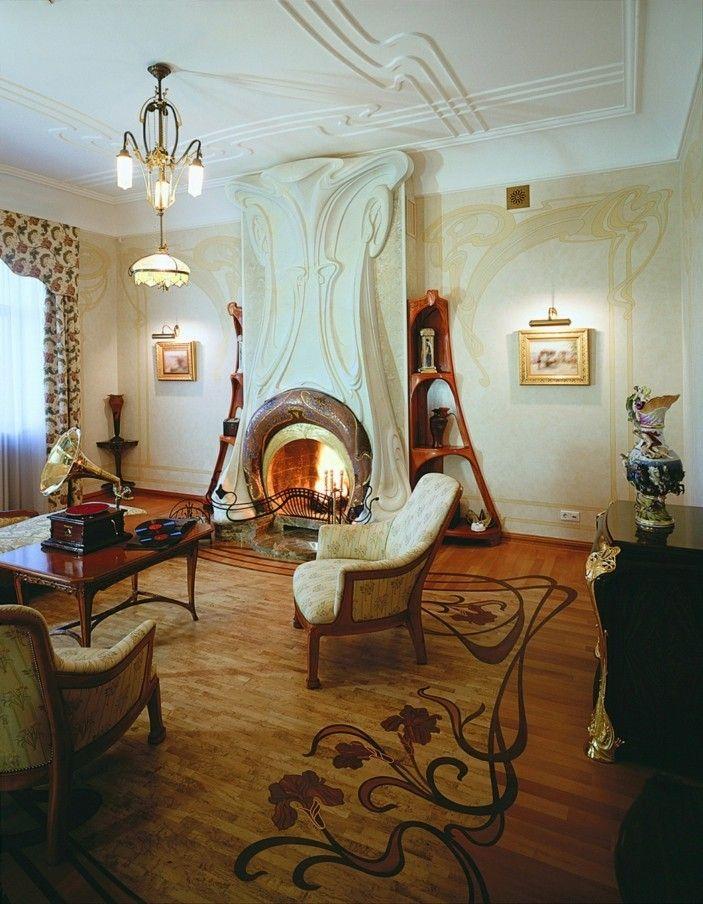 jugendstil als ausdruck im innendesign jugendstil jugendstil jugendstil m bel und design. Black Bedroom Furniture Sets. Home Design Ideas