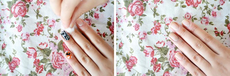 removendo o esmalte : via Tudo Make – Maior blog de maquiagem, beleza e tutoriais de Curitiba.