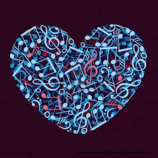 Notas Musicales Con Forma De Corazon Music Notes