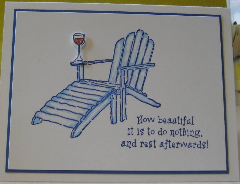Delightful Ideas For Retirement Cards To Make Part - 7: CAS Retirement Card 1 By Dacpam - Cards And Paper Crafts At  Splitcoaststampers