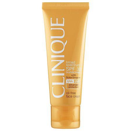 Oil-Free Face Cream Broad Spectrum SPF 30 - CLINIQUE | Sephora