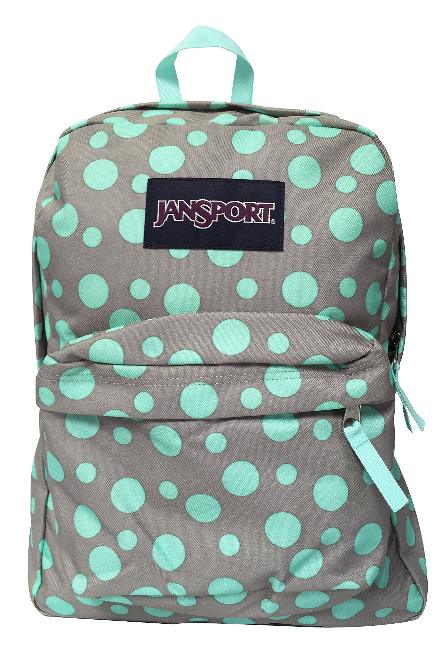 781207a3c3e Amazon.com: Classic Jansport Superbreak Backpack (Aqua Dash Zou Bisou  (T5010C6)): Clothing