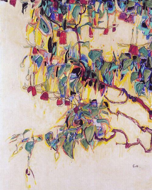 Sun Tree by Egon Schiele