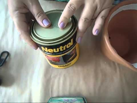 Impermeabilização de vaso de cerâmica