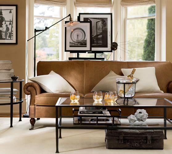 Tanner Rectangular Coffee Table, Grand Pottery Barn   60\