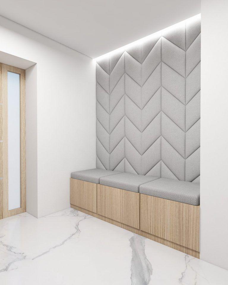 Wiatrolap 2 Foorma Upholstered Walls Modern Bedroom Decor Fabric Wall Decor