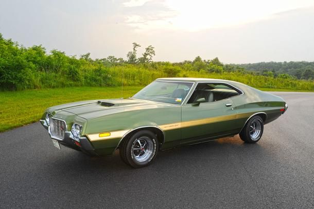 1972 Ford Gran Torino Sport Q Code 351 4v Cobrjet V8 Super T10 4speed 3 50 Traction Lok Axle Ford Torino Classic Cars Trucks Hot Rods Muscle Cars