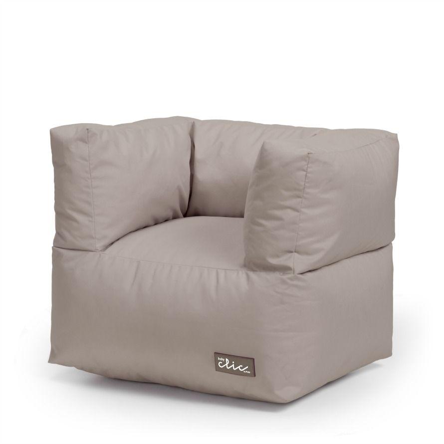 Sill n tipo puff de baby clic sacos y sillones baby for Sillones grandes y comodos