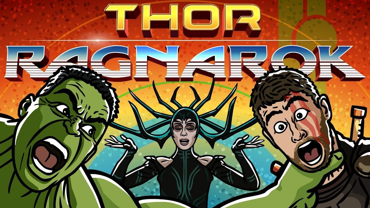 Thor Ragnarok Trailer Spoof TOON SANDWICH (With images
