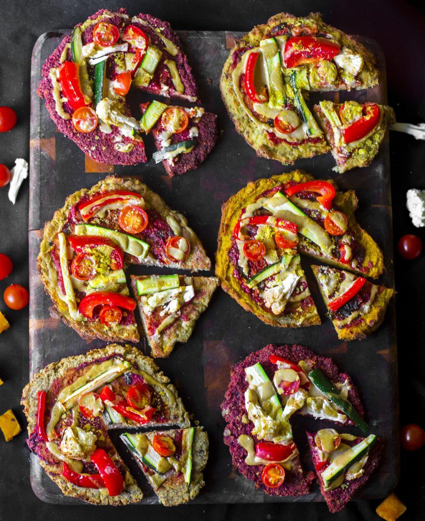 Easy versatile vegan pizza base