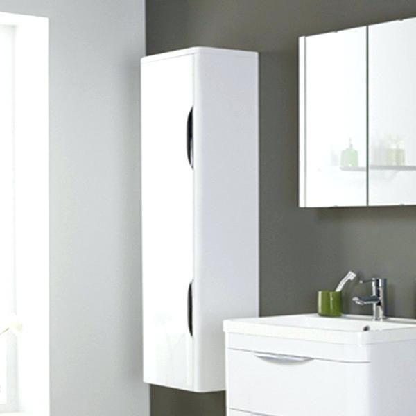 Weiß an der Wand befestigter Badezimmer-Kabinett Pinterest