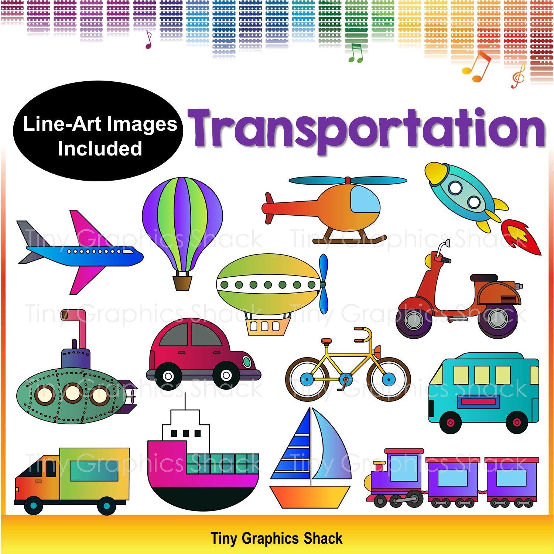 Transportation Clipart