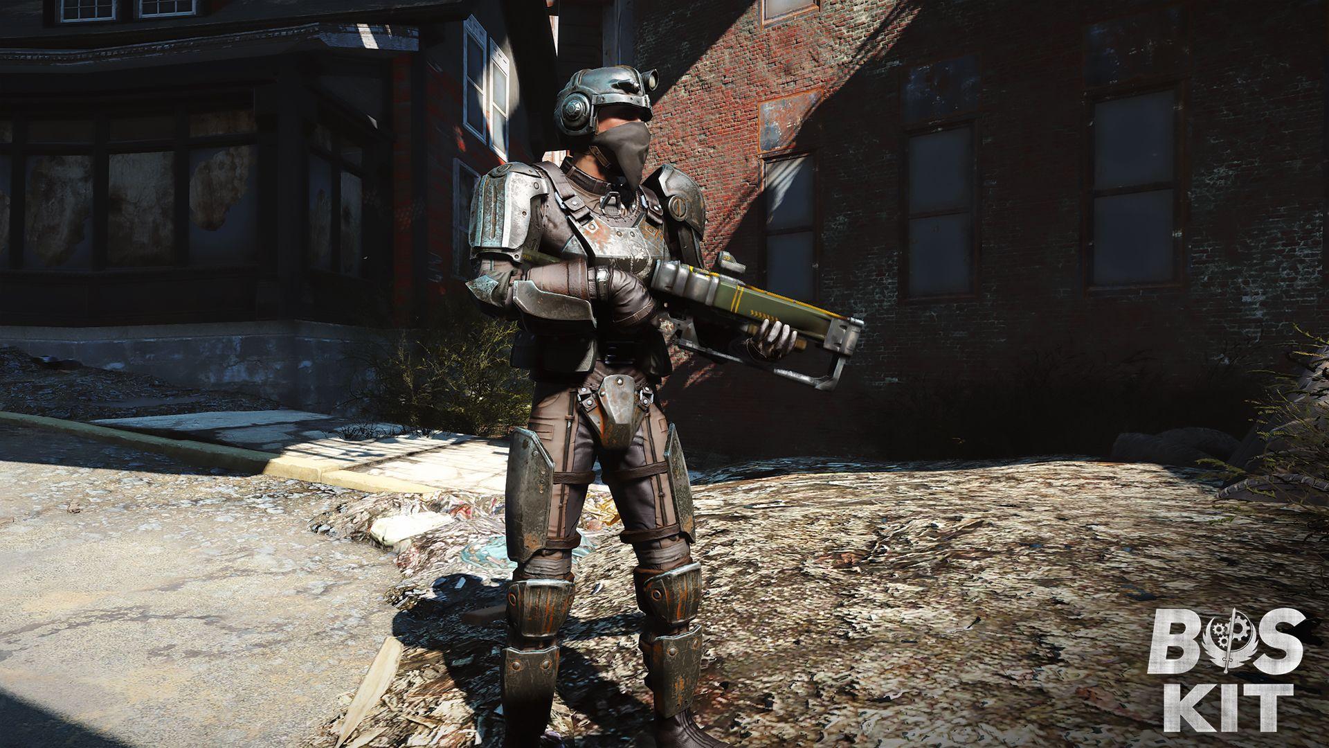 Brotherhood of Steel Kit (BOS Kit) at Fallout 4 Nexus - Mods