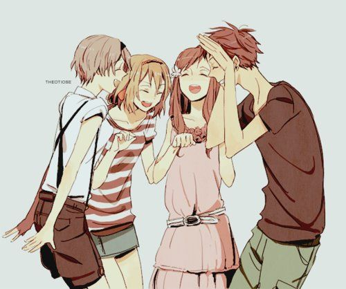 Group Friends Anime Group Of Friends Friend Anime Hetalia