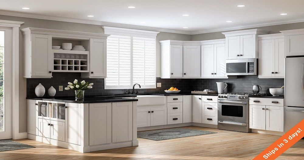 Shop our Kitchen Cabinets Department to customize your Shaker Wall ...