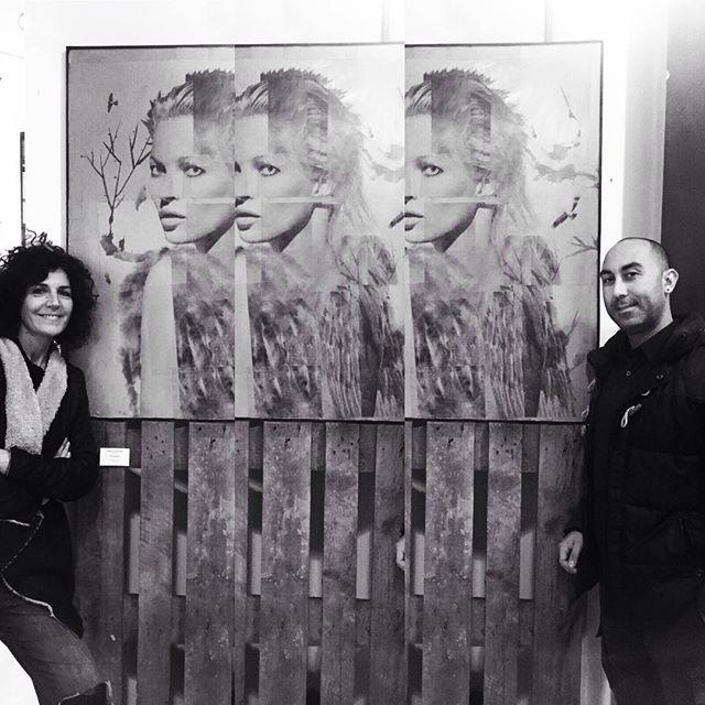 """Please Leave your World Here"" On show 3/15 December  Fabbrica Del Vapore Milano  Tallulah Studio@ Art-Too Milan#bestpicture #tallulahstudio #artoftheday #beautyaddict #robertomarsella #onshow #fabbricadelvapore #happymonday #myart #allisone #paolomezzadri#donatellaizzo#angelopacificoart #furioagimanphotography #riccardobonfadini #gracezanotto #milanocity #artoftheday"