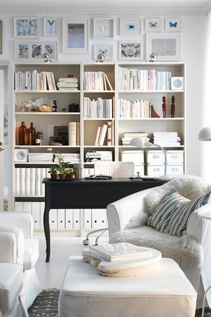 Billy Bookcase White 78 3 4x11x93 1 4 Ikea Living Room