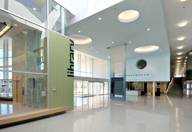 Community Center Interior Design | Niagara Falls Community Center I ...