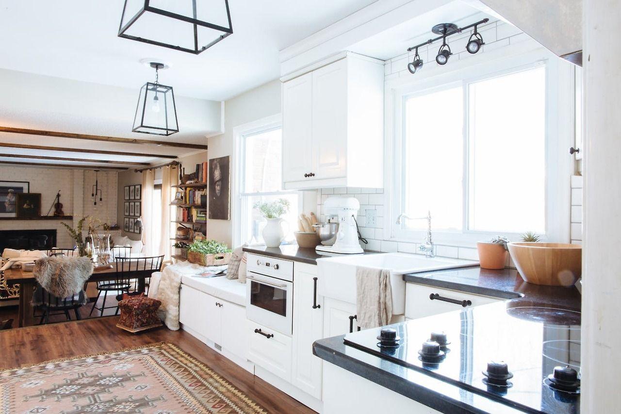 Elegant Modern Traditional Kitchen Cabinets