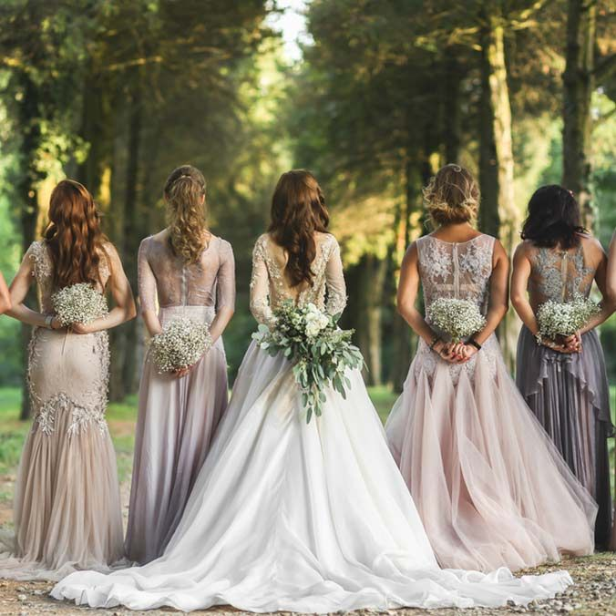 Mismatched Bridesmaid Dresses 8 Ways To Flawlessly Achieve The Look Indian Wedding
